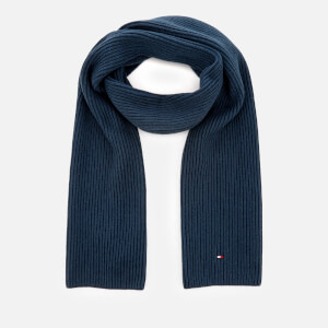 Tommy Hilfiger Men's Pima Cotton Scarf - Navy