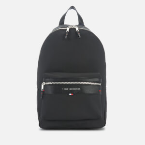 Tommy Hilfiger Men's Elevated Backpack - Black