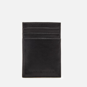 Tommy Hilfiger Men's Corporate Edge Card Holder - Black
