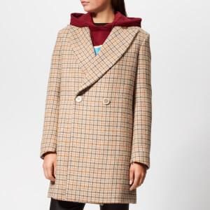 Golden Goose Deluxe Brand Women's Vanda Coat - Brown Beige Tweed