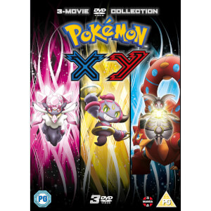 Pokemon Movie 17-19 Collection: XY