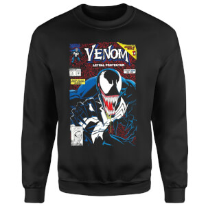 Venom Lethal Protector Sweatshirt - Black