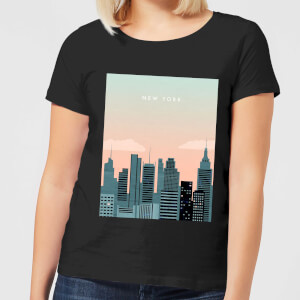New York Women's T-Shirt - Black