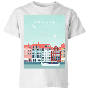 Copenhagen Kids' T-Shirt - White