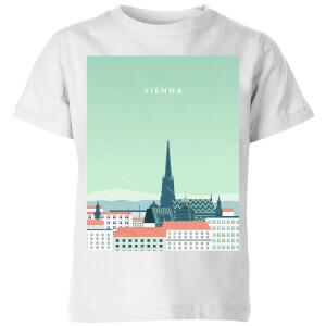 Vienna Kids' T-Shirt - White