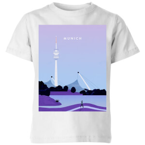 Munich Kids' T-Shirt - White