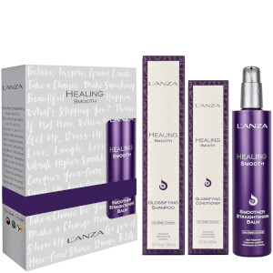 L'Anza Healing Smooth Christmas Gift Set (Worth £67.50)