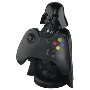 Star Wars Collectible Darth Vader 8 Inch Cable Guy Controller and Smartphone Stand