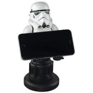 Star Wars Collectable Stormtrooper 8 Inch Cable Guy Controller and Smartphone Stand