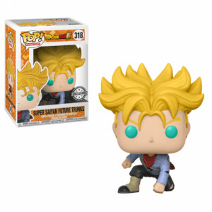 Dragon Ball Super - Super Saiyan Trunks del Futuro Figura Pop! Vinyl Esclusiva