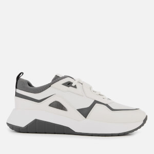 HUGO Men's Atom Running Trainers - Open White