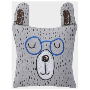 Ferm Living Little Mr. Teddy Jersey Cushion