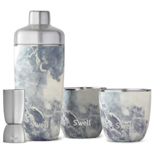 S'well Blue Granite Barware Set