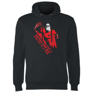Sweat à Capuche Homme Saving The Day Les Indestructibles 2 - Noir