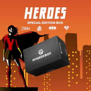 My Geek Box - Heroes Box - Men's - S