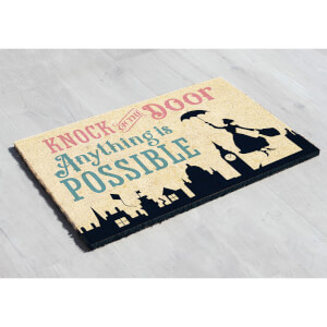 Disney Mary Poppins Anything is Possible Doormat - Limited Edition
