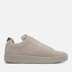 Eytys Men's Ace Suede Logo Trainers - Cement
