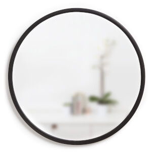Umbra Hub 61cm Mirror - Black