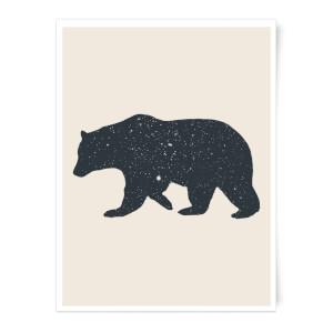 Florent Bodart Bear Art Print