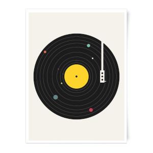 Florent Bodart Music Everywhere Art Print