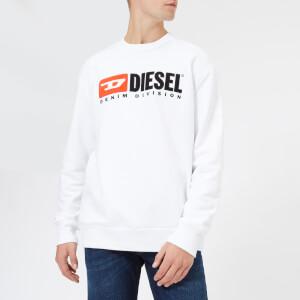 Diesel Men's S-Crew Division Sweatshirt - White