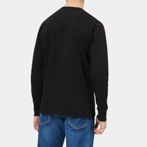 Diesel Men's T-Just Long Sleeve Division T-Shirt - Black: Image 2