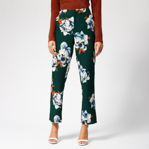 Gestuz Women's Fala Pants - Deep Pine Flower