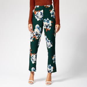 Gestuz Women's Fala Pants - Deep Pine Flower