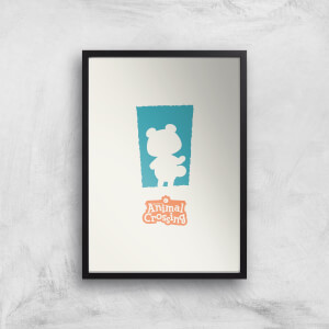 Nintendo Animal Crossing Blue Door Art Print