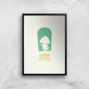 Nintendo Animal Crossing Green Door Art Print