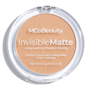 MCoBeauty Invisible Matte Pressed Powder - Nude Beige