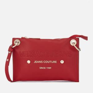 ded080636c Versace Jeans Women s Logo Cross Body Bag - Red