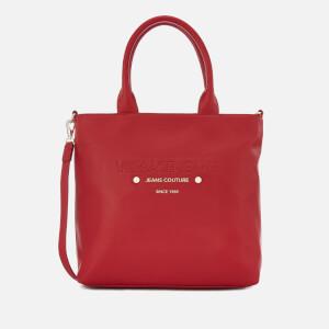 Versace Jeans Women's Logo Print Shopper Bag - Red