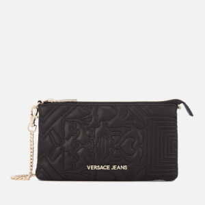 Versace Jeans Women's Padded Cross Body Bag - Black
