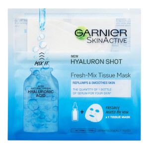 Garnier Fresh-Mix Face Sheet Mask Shot with Hyaluronic Acid