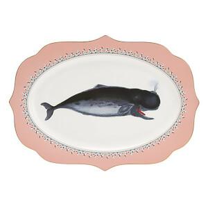 Yvonne Ellen Whale Platter - Pink