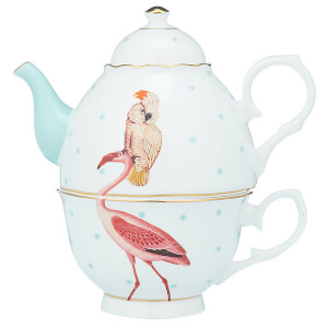 Yvonne Ellen Tea for One Set - Pink