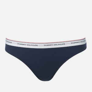 Tommy Hilfiger Women's 3P Thong - Multi