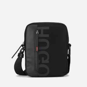 HUGO Men's Tech North South Cross Body Bag - Black