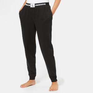 Calvin Klein Women's Monogram Joggers - Black