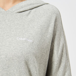 Calvin Klein Women's Long Sleeve Hoody - Grey Heather: Image 4