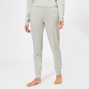 Calvin Klein Women's CK Logo Joggers - Grey Heather