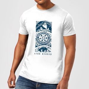 Disney Moana Star Reader Men's T-Shirt - White
