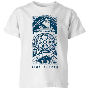 Moana Star Reader Kinder T-shirt - Wit