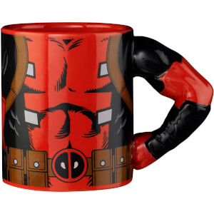 Meta Merch Marvel Deadpool Arm Mug