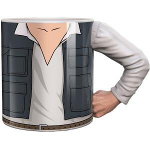 Meta Merch Star Wars Han Solo Tasse mit Henkel in Armform
