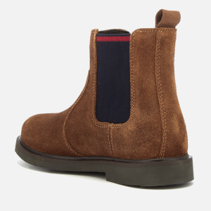 Polo Ralph Lauren Kids' Glaston Suede Chelsea Boots - Snuff: Image 2