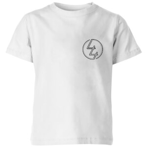 How Ridiculous 44 Pocket Emblem Kids' T-Shirt - White