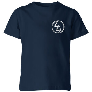 How Ridiculous 44 Pocket Emblem Kids' T-Shirt - Navy