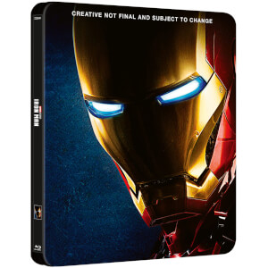 Iron Man 1 - 3 Kollektion - Zavvi Exklusives Steelbook